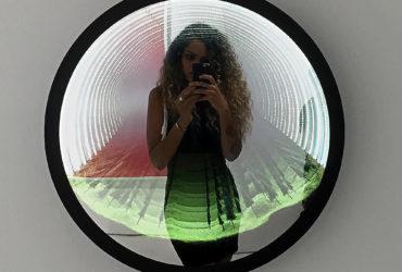 Зеркало с эффектом бесконечности