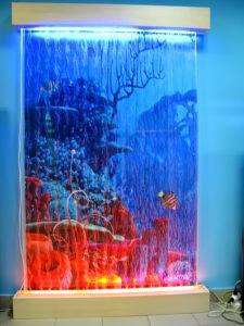 Пузырьковая панель с фоном